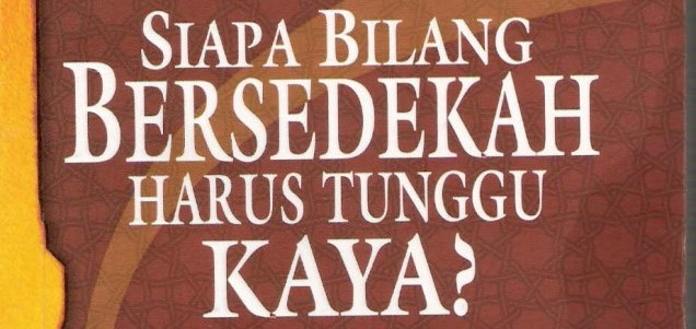 Copy of sedekah